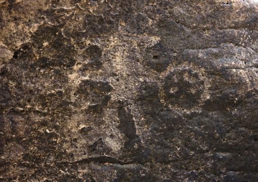 Human Representation On A Petroglyph, Goubet Al-kharab, Djibouti