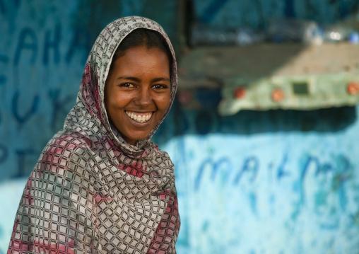 Young Muslim Woman, Tadjourah, Djibouti