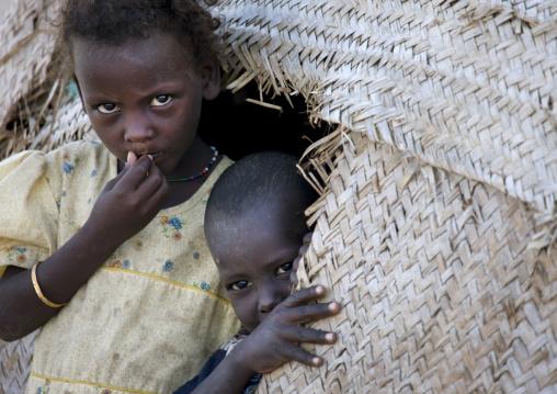 Young Afar Kids, Obock, Djibouti