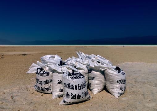 Bags Of Salt, Lake Assal, Djibouti