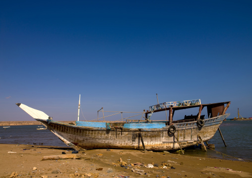 Traditional Dhow, Obock, Djibouti