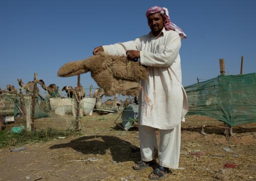 Camel Market In Al Ain, Emirates