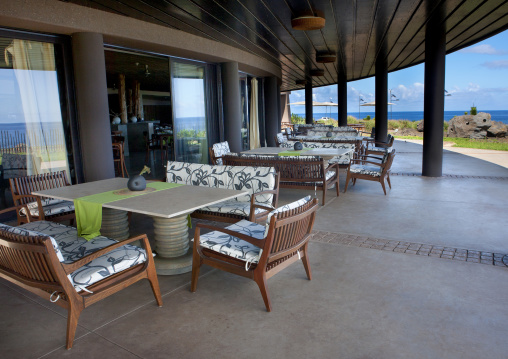 Restaurant In Hanga Roa Hotel, Chile