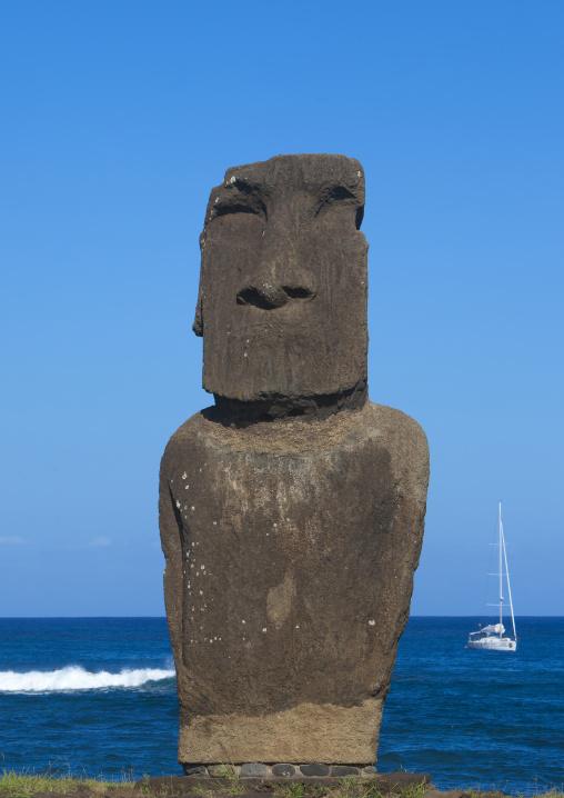 Ahu Tautira Moai, Easter Island, Chile