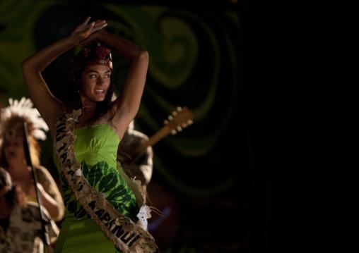 Lili Pate Coronation During Tapati Festival, Easter Island, Chile