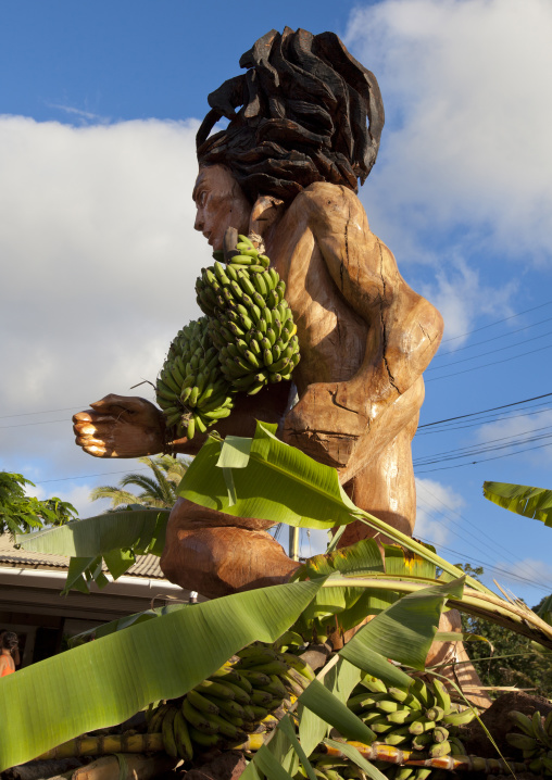 Carnival Parade During Tapati Festival, Easter Island, Chile