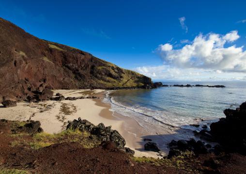 Ovahe Beach, Easter Island, Chile