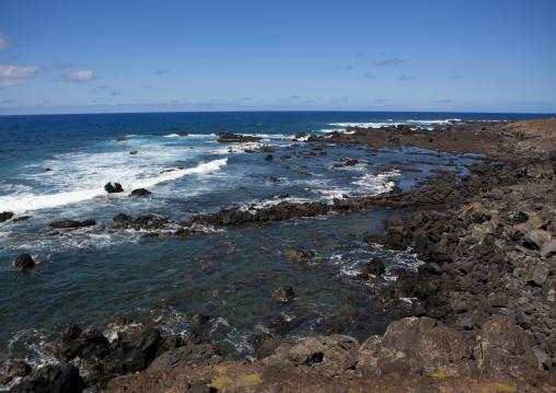 Coast In Easter Island, Chile