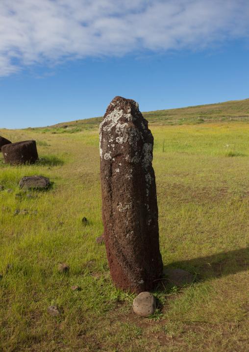Former Double-Headed Moai, Vinapu Site, Easter Island, Chile