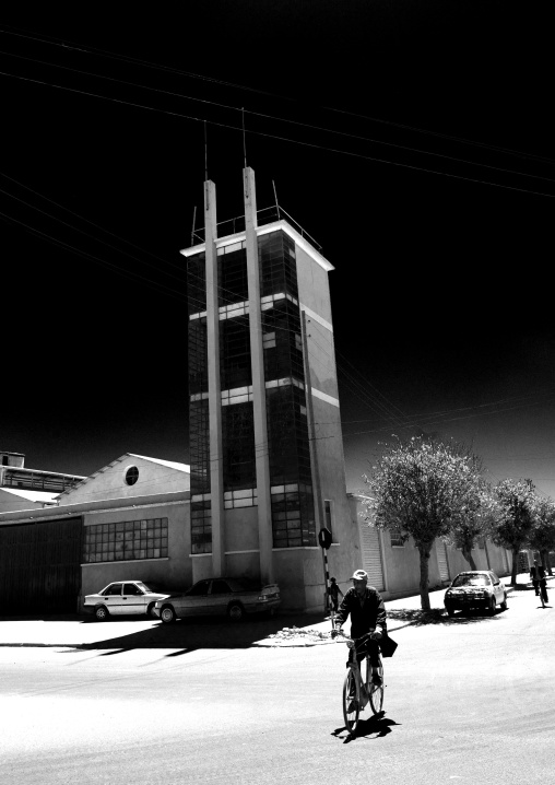 Italian Factory In Asmara Eritrea