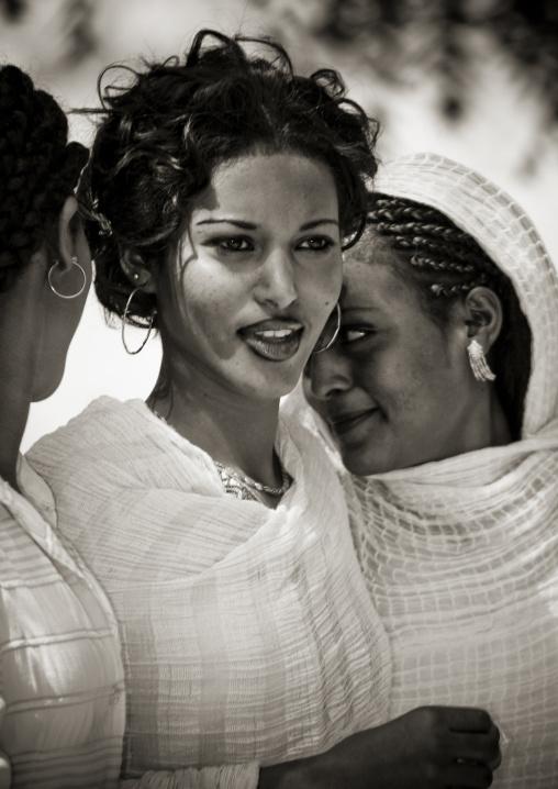 Women At Festival Of Mariam Dearit, Keren, Eritrea