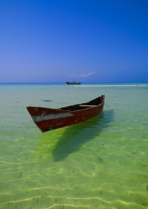 Boat On Dahlak Archipelago, Eritrea