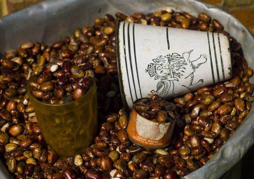 Eritrea, Horn Of Africa, Asmara, beans in asmara mercato