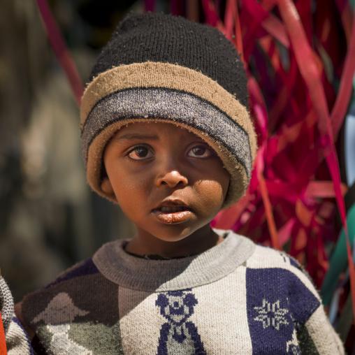 Boy In Asmara, Eritrea