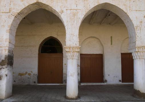 Ottoman Arcades In Massawa, Eritrea