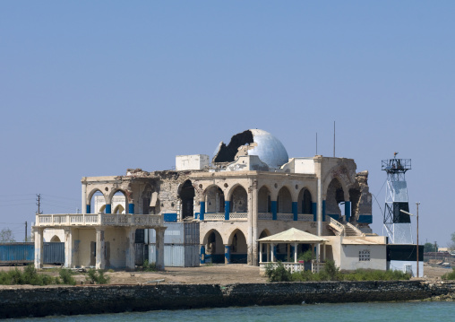 The Old Palace Of Haile Selassie In Massawa, Eritrea