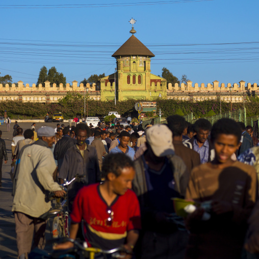 Eritrea, Horn Of Africa, Asmara, enda mariam orthodox church