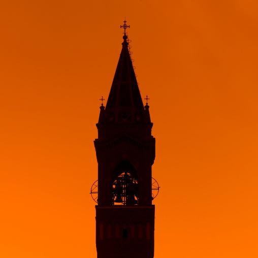 St Joseph's Cathedral In The Sunset, Asmara, Eritrea