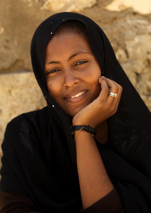 Eritrea, Horn Of Africa, Massawa, muslim eritrean woman