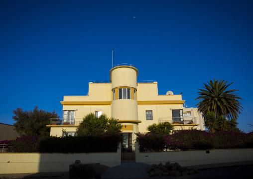Art Deco Italian Colonial Building, Central region, Asmara, Eritrea