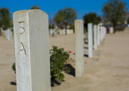 The British War Cemetery At Keren, Eritrea, Anseba, Keren, Eritrea