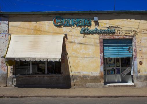 Old Italian Grunding Shop, Central region, Asmara, Eritrea