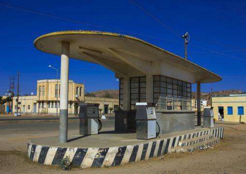 Old Colonial Italian Gas Station, Debub, Dekemhare, Eritrea