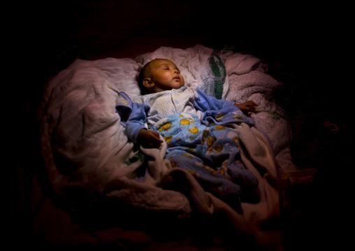 Baby Sleeping, Northern Red Sea, Massawa, Eritrea