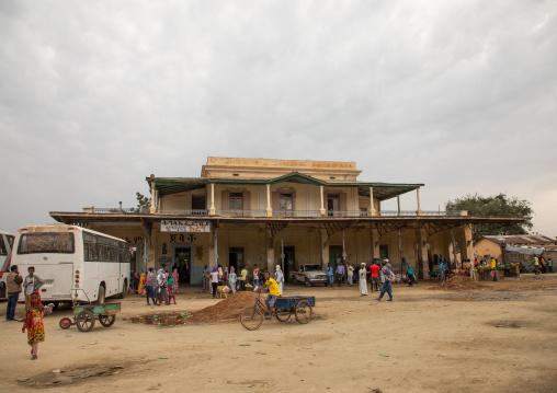 Former train station now a bus station, Semien-Keih-Bahri, Keren, Eritrea