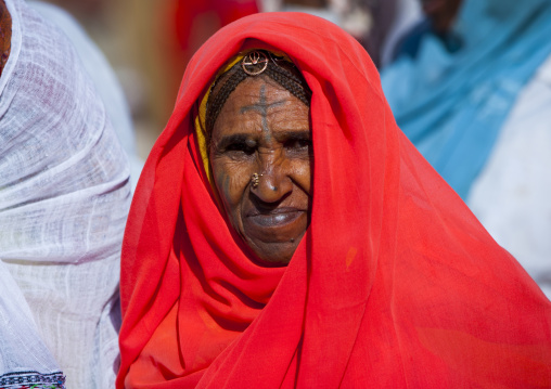 Old Woman In Monday Market, Anseba, Keren, Eritrea
