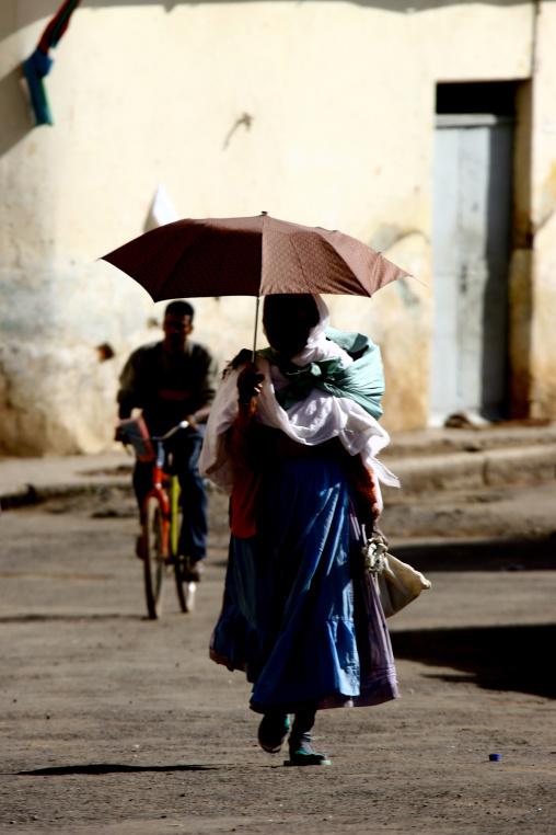 People In Asmara Street, Eritrea