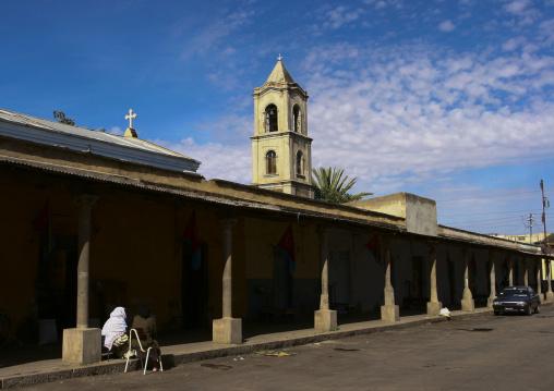 Asmara Grain Market, Eritrea
