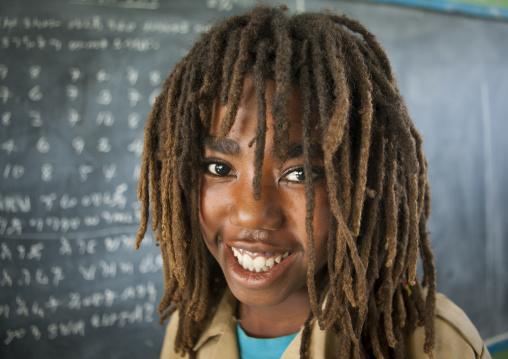 Portrait Of A Rasta Boy In Shashemene Jamaican School, Oromia Region, Ethiopia