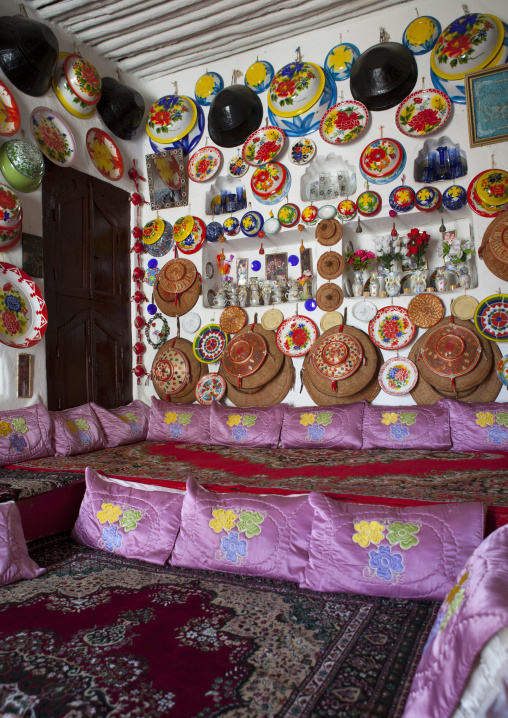 Niched Wall In Room Of Traditionnal House In Harar, Harari Region, Ethiopia