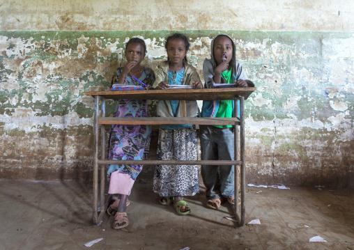 Pupils In A School, Tepi, Ethiopia