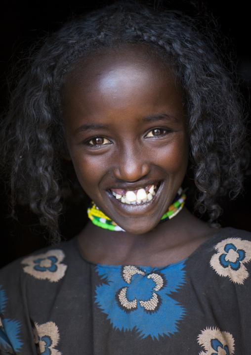 Borana Tribe Girl, Yabelo, Ethiopia