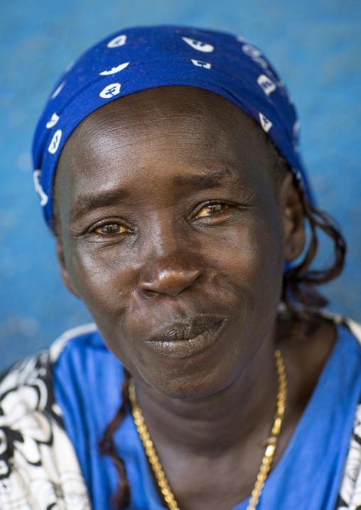 Mrs Nunu, Anuak Tribe, Gambela, Ethiopia