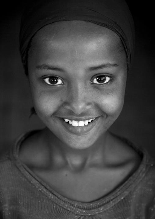 Miss Zaburali, Muslim Girl, Tepi, Ethiopia
