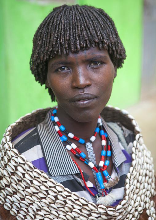 Mrs Dula Shangala, Tsemay Tribe, Key Afer, Omo Valley, Ethiopia