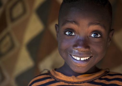 Majang Tribe Boy Portrait, Majangir, Ethiopia