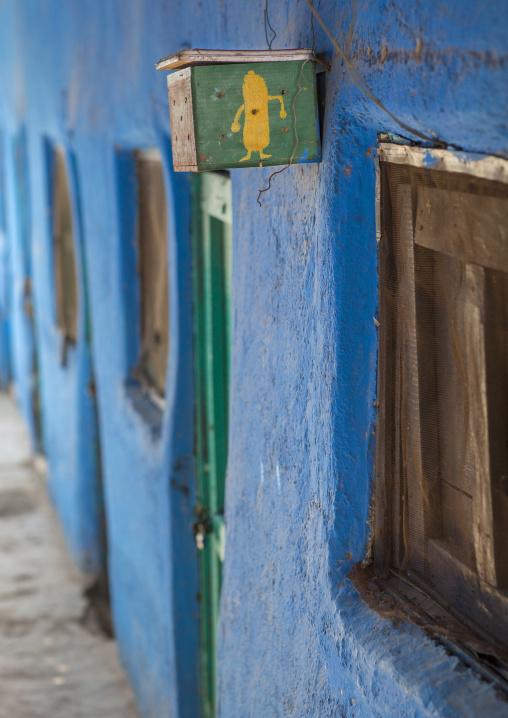 Condom Box In An Hotel, Assayta, Ethiopia