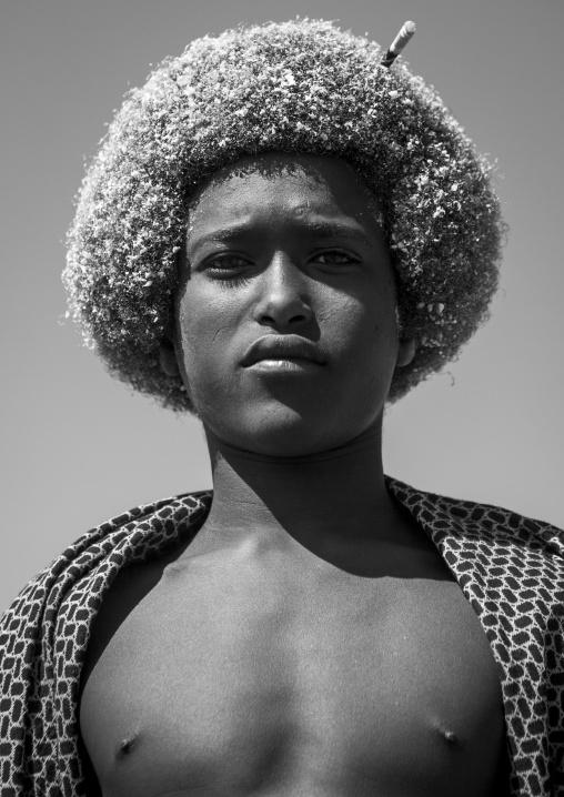 Mr Awol Mohammed, Afar Tribe Man, Mille, Ethiopia