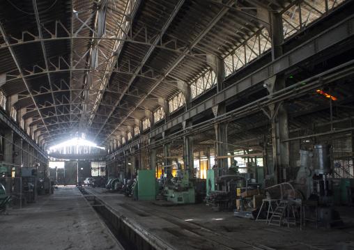 Inside The Dire Dawa Train Station Workshop, Ethiopia