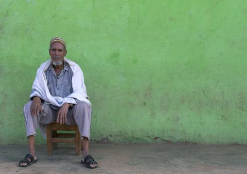 Muslim Man In Jinka, Omo Valley, Ethiopia