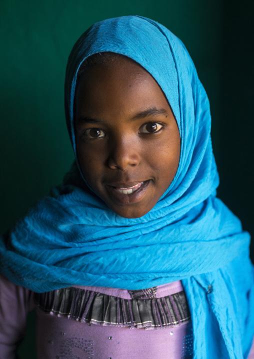 Harari Muslim Girl, Harar, Ethiopia