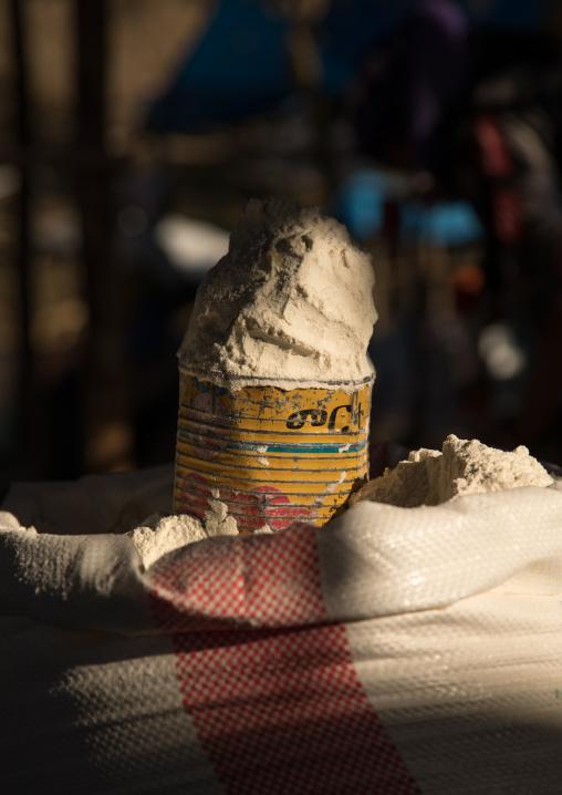 Churo for sale in the market, Amhara region, Senbete, Ethiopia
