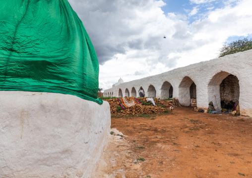 Oromo pilgrims camp in Sheikh Hussein shrine, Oromia, Sheik Hussein, Ethiopia