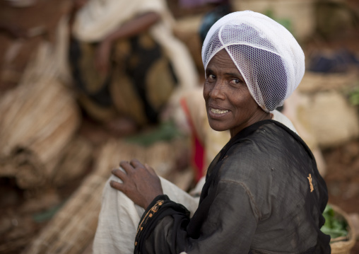 Woman from the gourague tribe, Village of kumbi, Ethiopia