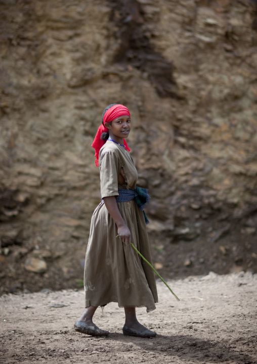 Wollo Girl, Mezan Teferi Area, Ethiopia