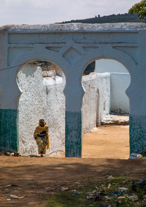 Entry of a muslim holy site, Harari Region, Harar, Ethiopia